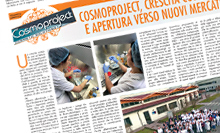 The company expansion and the new laboratories introduced in the Cosmoprof dossier